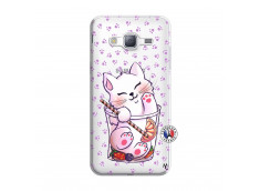 Coque Samsung Galaxy J3 2016 Smoothie Cat