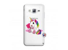 Coque Samsung Galaxy J3 2016 Sweet Baby Licorne