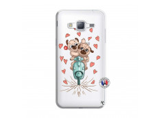 Coque Samsung Galaxy J3 2016 Puppies Love