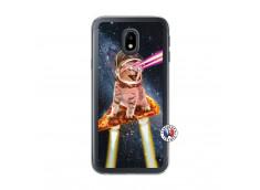 Coque Samsung Galaxy J3 2017 Cat Pizza Translu