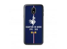 Coque Samsung Galaxy J3 2017 Champions Du Monde 1998 2018 Transparente