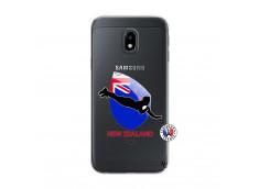 Coque Samsung Galaxy J3 2017 Coupe du Monde Rugby- Nouvelle Zélande