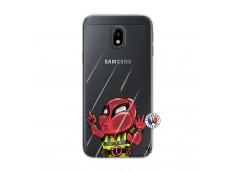 Coque Samsung Galaxy J3 2017 Dead Gilet Jaune Impact