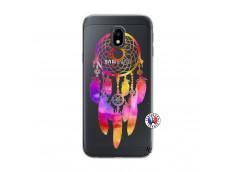 Coque Samsung Galaxy J3 2017 Dreamcatcher Rainbow Feathers