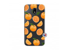 Coque Samsung Galaxy J3 2017 Orange Gina