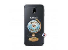 Coque Samsung Galaxy J3 2017 Globe Trotter