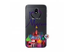 Coque Samsung Galaxy J3 2017 I Love Moscow