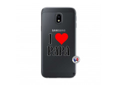 Coque Samsung Galaxy J3 2017 I Love Papa