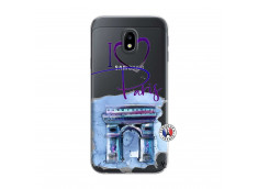 Coque Samsung Galaxy J3 2017 I Love Paris Arc Triomphe