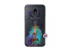 Coque Samsung Galaxy J3 2017 I Love Paris