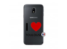 Coque Samsung Galaxy J3 2017 I Love Toulouse
