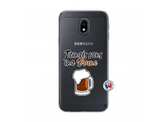 Coque Samsung Galaxy J3 2017 Jamais Sans Ma Brune