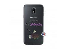 Coque Samsung Galaxy J3 2017 Je Peux Pas J Ai Badminton