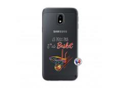 Coque Samsung Galaxy J3 2017 Je Peux Pas J Ai Basket