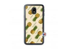 Coque Samsung Galaxy J3 2017 Sorbet Ananas Translu