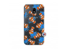 Coque Samsung Galaxy J3 2017 Poisson Clown
