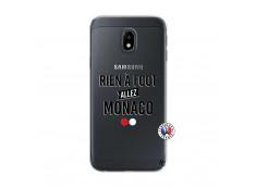 Coque Samsung Galaxy J3 2017 Rien A Foot Allez Monaco