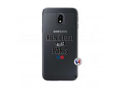 Coque Samsung Galaxy J3 2017 Rien A Foot Allez Paris