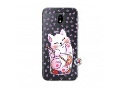 Coque Samsung Galaxy J3 2017 Smoothie Cat