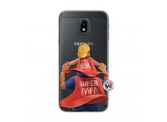 Coque Samsung Galaxy J3 2017 Super Papa et Super Bébé