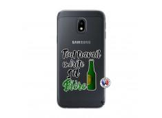 Coque Samsung Galaxy J3 2017 Tout Travail Merite Sa Biere