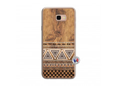 Coque Samsung Galaxy J4 Plus Aztec Deco Translu
