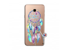 Coque Samsung Galaxy J4 Plus Blue Painted Dreamcatcher