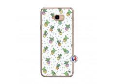 Coque Samsung Galaxy J4 Plus Le Monde Entier est un Cactus Translu