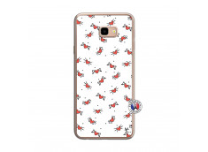 Coque Samsung Galaxy J4 Plus Cartoon Heart Translu