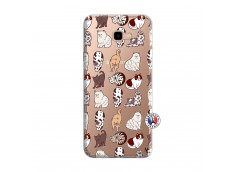 Coque Samsung Galaxy J4 Plus Cat Pattern