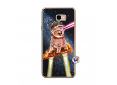 Coque Samsung Galaxy J4 Plus Cat Pizza Translu