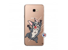 Coque Samsung Galaxy J4 Plus Dog Impact