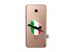Coque Samsung Galaxy J4 Plus Coupe du Monde Rugby-Italy