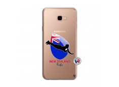 Coque Samsung Galaxy J4 Plus Coupe du Monde Rugby- Nouvelle Zélande