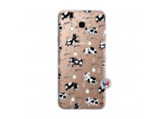 Coque Samsung Galaxy J4 Plus Cow Pattern