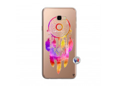Coque Samsung Galaxy J4 Plus Dreamcatcher Rainbow Feathers