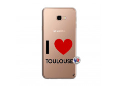 Coque Samsung Galaxy J4 Plus I Love Toulouse