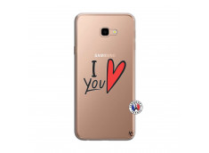 Coque Samsung Galaxy J4 Plus I Love You