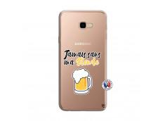Coque Samsung Galaxy J4 Plus Jamais Sans Ma Blonde