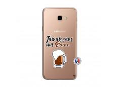 Coque Samsung Galaxy J4 Plus Jamais Sans Ma Brune