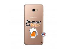 Coque Samsung Galaxy J4 Plus Jamais Sans Ma Rousse
