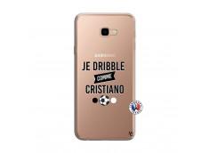 Coque Samsung Galaxy J4 Plus Je Dribble Comme Cristiano