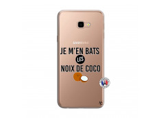 Coque Samsung Galaxy J4 Plus Je m'en bats Les Noix De Coco