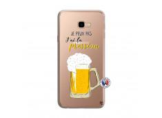 Coque Samsung Galaxy J4 Plus Je peux pas J'ai la Pression