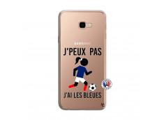 Coque Samsung Galaxy J4 Plus Je Peux Pas J Ai Les Bleues