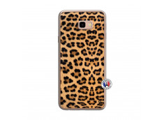 Coque Samsung Galaxy J4 Plus Leopard Style Translu