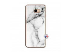 Coque Samsung Galaxy J4 Plus White Marble Translu