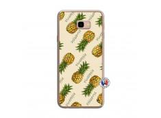 Coque Samsung Galaxy J4 Plus Sorbet Ananas Translu