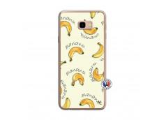Coque Samsung Galaxy J4 Plus Sorbet Banana Split Translu