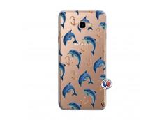 Coque Samsung Galaxy J4 Plus Dauphins